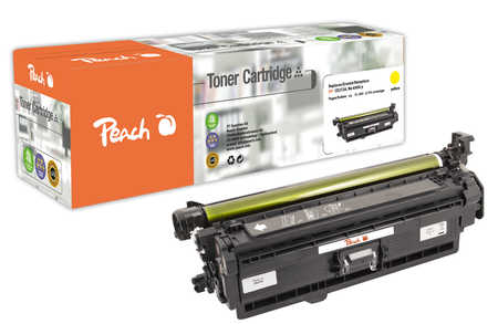 Peach  Tonermodul gelb, kompatibel zu HP Color LaserJet Enterprise M 750 xh