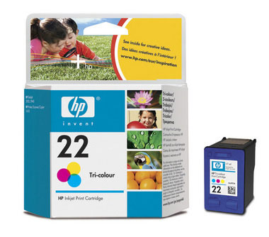 Original  Tintenpatrone color HP DeskJet D 1450