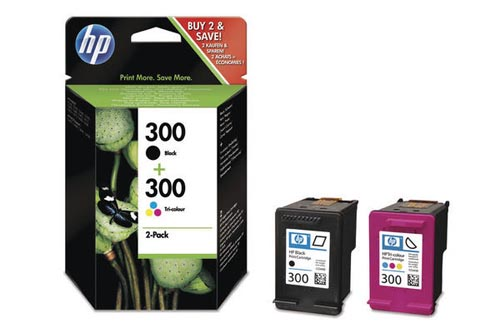 Original  Combopack Tinte schwarz, color HP DeskJet D 2600 Series