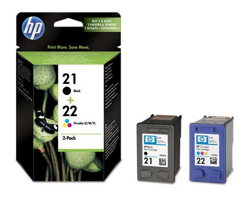 Original  Combopack Tinte schwarz, color, HP DeskJet D 1341