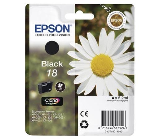 Original  Tintenpatrone schwarz Epson Expression Home XP-310 Series