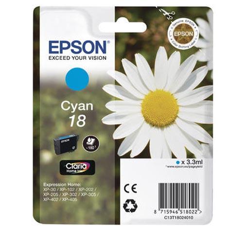 Original  Tintenpatrone cyan Epson Expression Home XP-310 Series