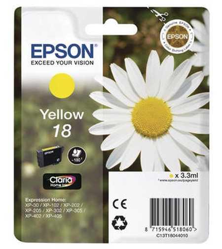 Original  Tintenpatrone gelb Epson Expression Home XP-310 Series