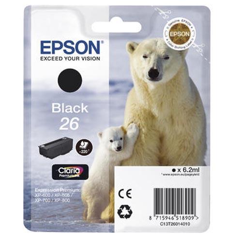 Original  Tintenpatrone schwarz Epson Expression Premium XP-510