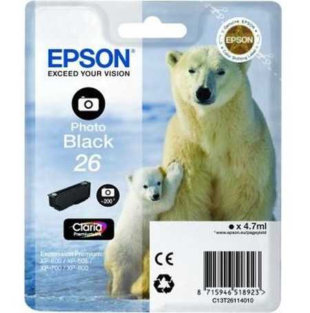 Original  Tintenpatrone foto schwarz Epson Expression Premium XP-510