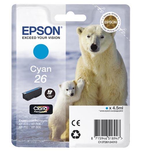 Original  Tintenpatrone cyan Epson Expression Premium XP-510