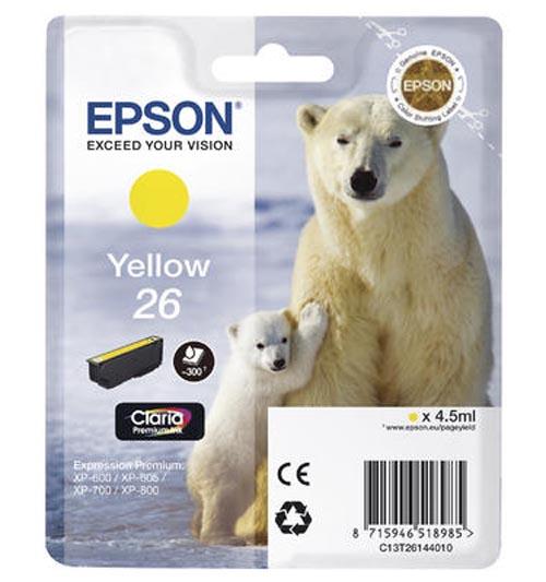Original  Tintenpatrone gelb Epson Expression Premium XP-510