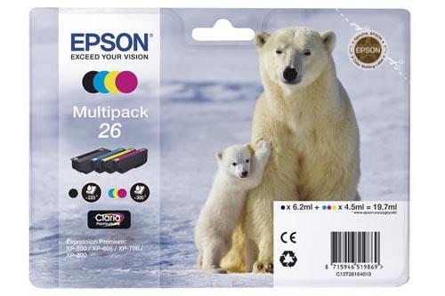 Original  Multipack Tinte PBKCMY Epson Expression Premium XP-510