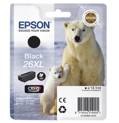 Original  Tintenpatrone XL schwarz Epson Expression Premium XP-510