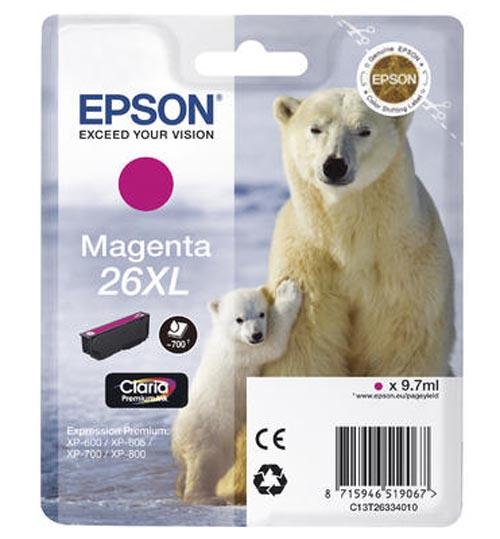 Original  Tintenpatrone XL magenta Epson Expression Premium XP-510