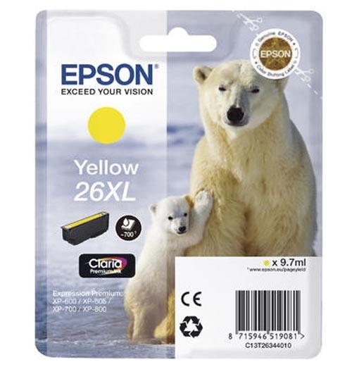 Original  Tintenpatrone XL gelb Epson Expression Premium XP-510