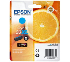Original  Tintenpatrone XL cyan Epson Expression Premium XP-630 Series