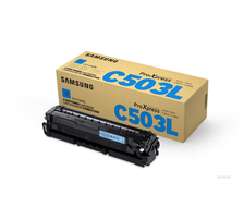 Original  Tonerpatrone cyan Samsung ProXpress C 3010 ND premium line