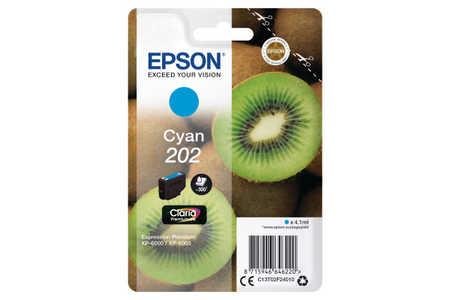 Original  Tintenpatrone cyan Epson Expression Premium XP-6005