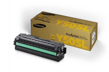 Original  Tonerpatrone yellow Samsung ProXpress C 2620 DW Premium Line