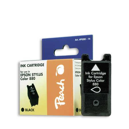 Peach  Tintenpatrone schwarz kompatibel zu Epson Stylus Color 8 Cube