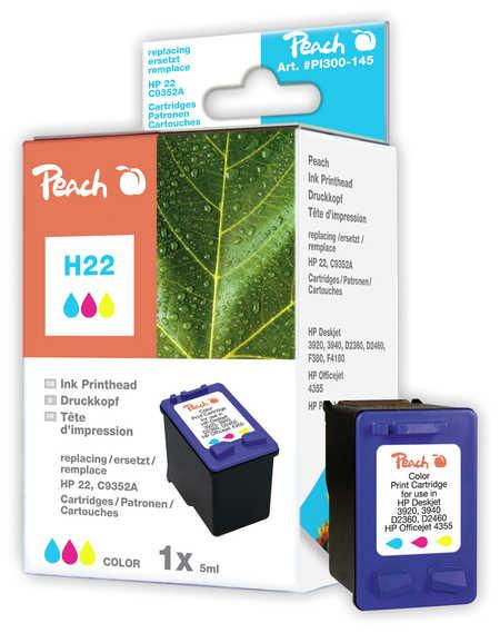 Peach  Druckkopf color kompatibel zu HP DeskJet D 1341