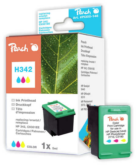 Peach  Druckkopf color kompatibel zu HP DeskJet D 4155