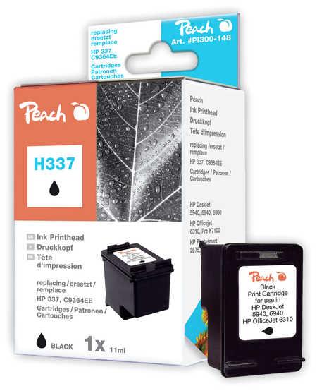 Peach  Druckkopf schwarz kompatibel zu HP DeskJet D 4155