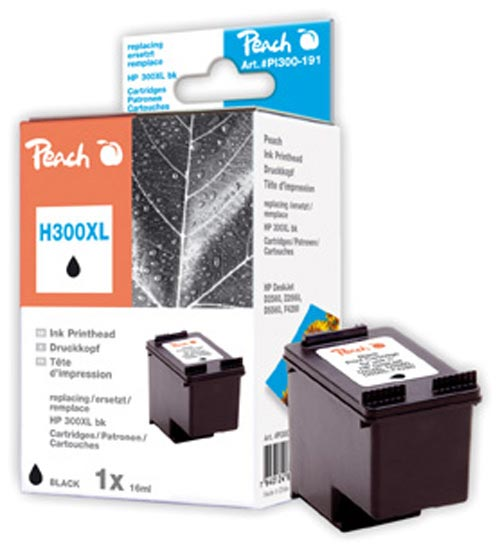 Peach  Druckkopf schwarz kompatibel zu HP DeskJet D 5568