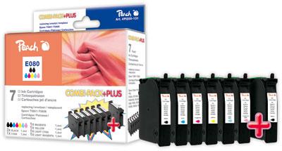 Peach  Spar Pack Plus Tintenpatronen kompatibel zu Epson Stylus Photo PX 830 FWD