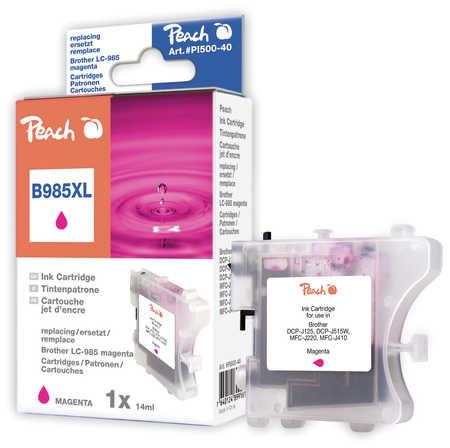 Peach  Tintenpatrone magenta kompatibel zu Brother MFCJ 410 Series