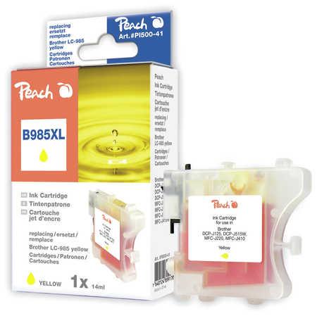 Peach  Tintenpatrone gelb kompatibel zu Brother MFCJ 410 Series