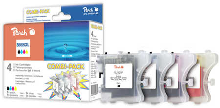Peach  Spar Pack Tintenpatronen kompatibel zu Brother MFCJ 410 Series