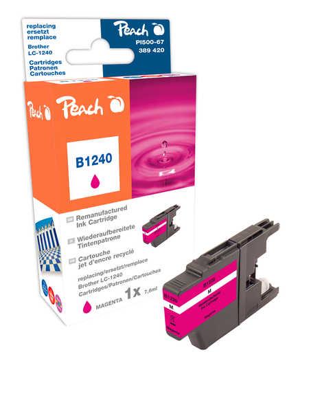 Peach  Tintenpatrone magenta kompatibel zu Brother MFCJ 6910 DW