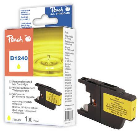 Peach  Tintenpatrone gelb kompatibel zu Brother MFCJ 6910 DW