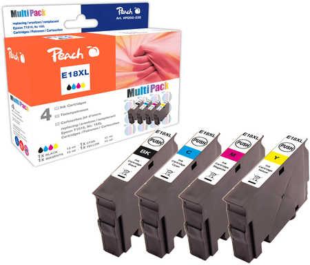 Peach  Spar Pack Tintenpatronen kompatibel zu Epson Expression Home XP-310 Series