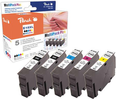 Peach  Spar Pack Plus Tintenpatronen, kompatibel zu Epson Expression Home XP-310 Series