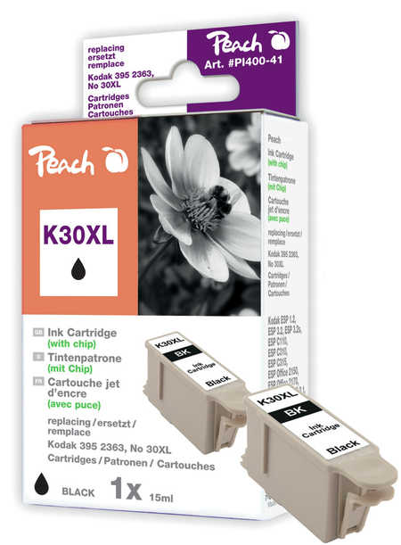 Peach  Tintenpatrone schwarz kompatibel zu Kodak ESP 1 2