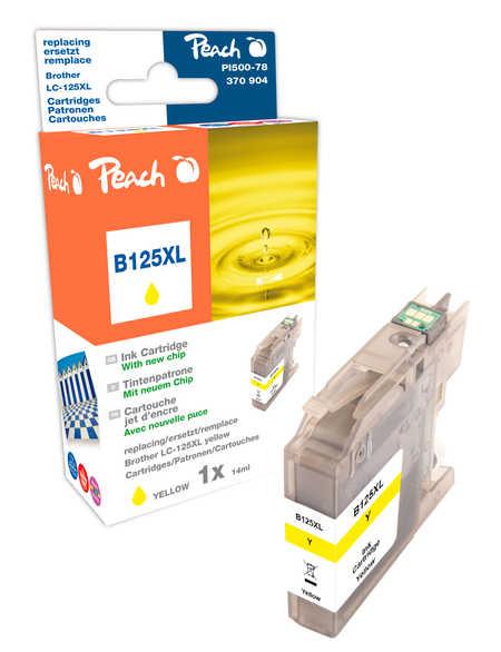 Peach  Tintenpatrone gelb XL, kompatibel zu Brother MFCJ 4510 DW