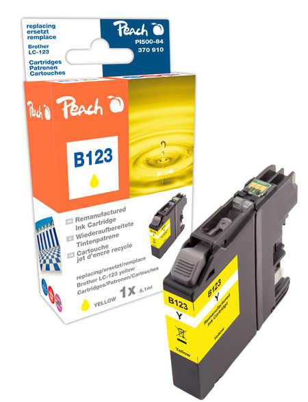 Peach  Tintenpatrone gelb kompatibel zu Brother MFCJ 4510 DW