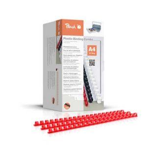Peach  Binderücken 4mm, A4, rot, 200 Stück - PB404-03