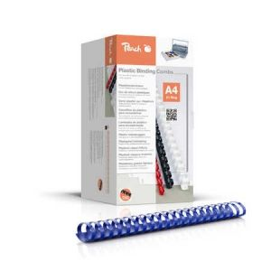 Peach  Binderücken 44mm, für 440 Blatt A4, blau, 50 Stück, PB444-04