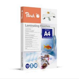 Peach  Laminierfolien A4, 100 mic, glänzend, PP500-02, 100 Stk.