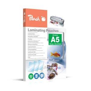 Peach  Laminierfolien A5, 80 mic, glänzend, PP580-03, 100 Stk.