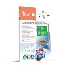 Peach  Laminierfolien 100er Starterset, 80 mic, verschiedene Grössen
