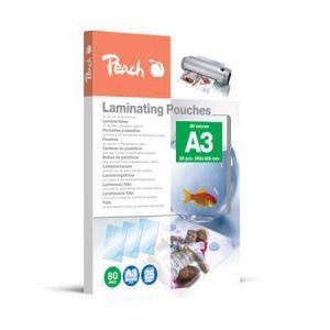 Peach  Laminierfolien A3, 80 mic, glänzend, PPR080-01, 25 Stk.