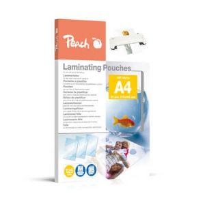 Peach  Laminierfolien A4, 125 mic, glänzend, PPR525-02, 25 Stk.