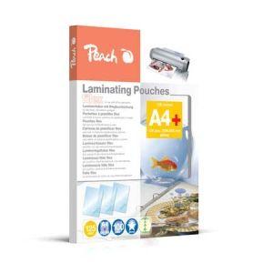 Peach  Laminierfolien A4, 125 mic, glänzend, abheftbar, S-PP525-21, 100 Stk.
