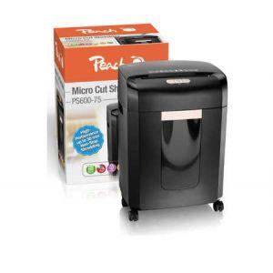 Peach  Micro Cut Aktenvernichter - PS600-75 High Performance