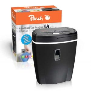 Peach  Auto Cross Cut Shredder - PS500-50