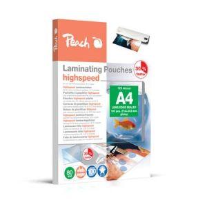 Peach  HighSpeed Laminierfolien A4, 80 mic, express, PP580-22, 100 Stk.