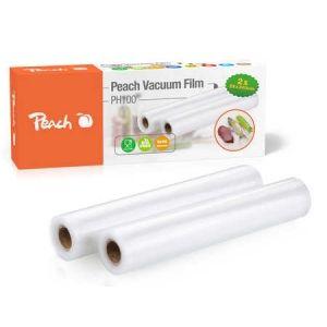 Peach  Vakuumierfolie PH100, 2 Rollen 28x300cm, 2x90 mic, 7-lagig