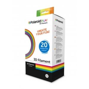 Original Polaroid Filament Farbbox 3D-FP-PL-2500-00, PLA 1.75 mm